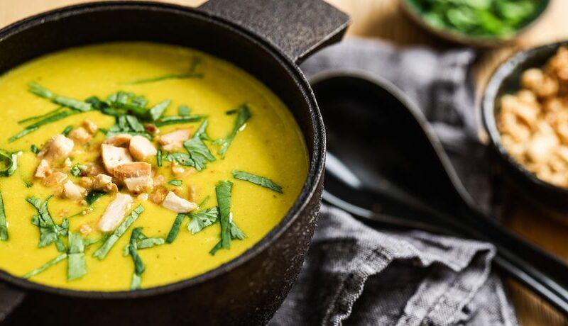 Gemüsesuppe – asiatisch