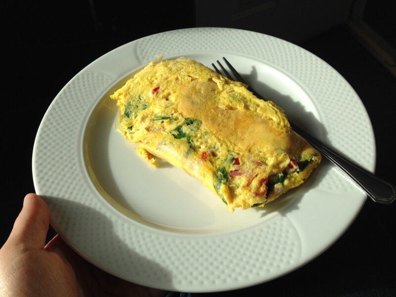 Kunterbuntes Omelett